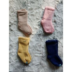 🆕Cotton Terry Bootie Socks(Pack of 4)Baby S Cat